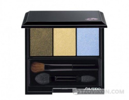 Тени для век Shiseido Luminizing satin eye color trio